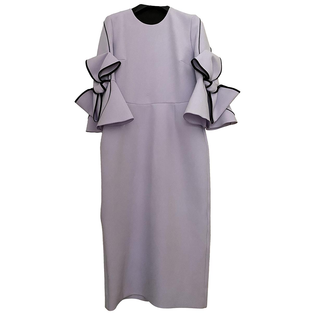 Roksanda \N Kleid in  Lila Polyester