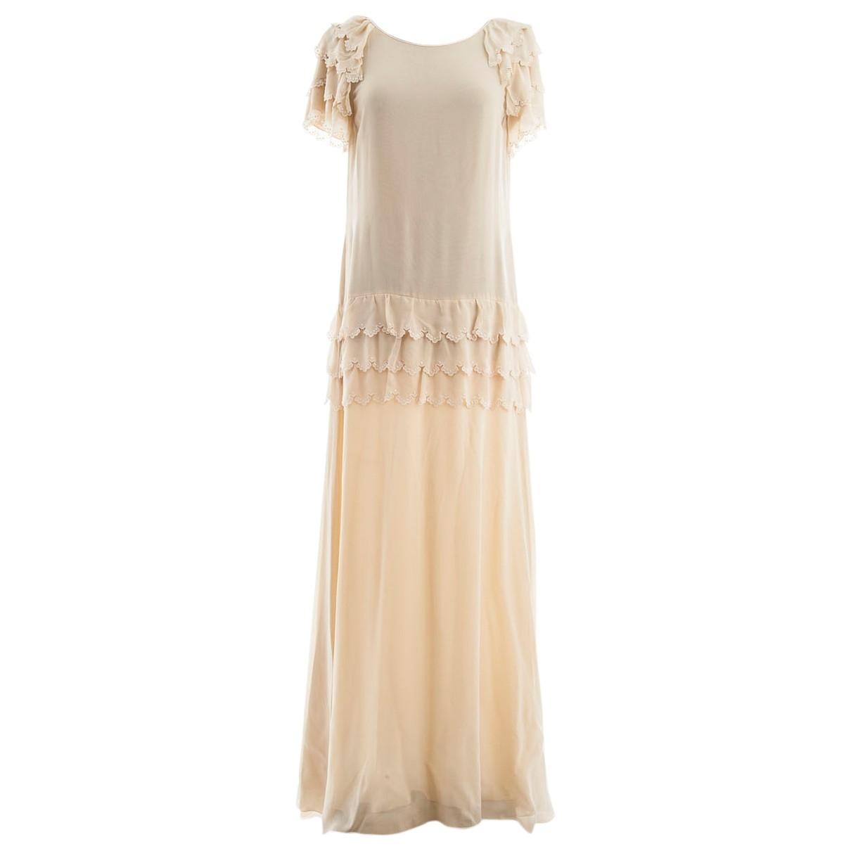 Maxi vestido de Seda Chloe
