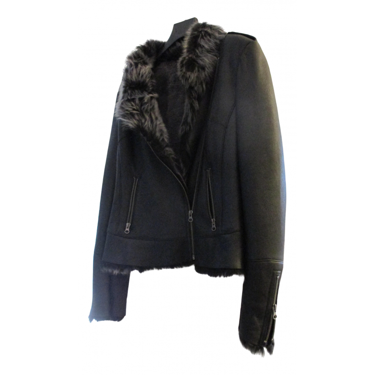 Giovanni Raspini - Veste   pour femme en cuir - noir