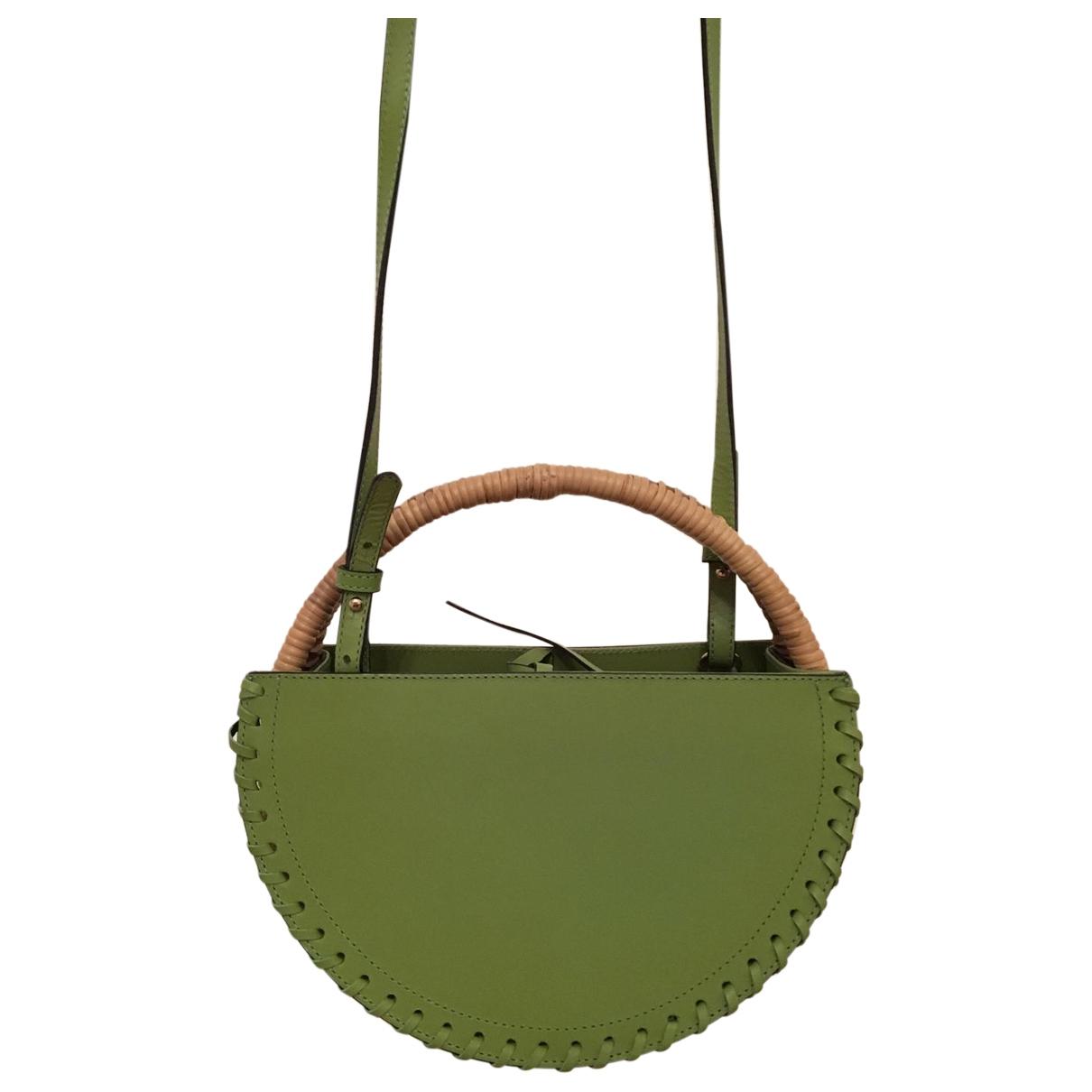 Wai Wai \N Green Leather handbag for Women \N
