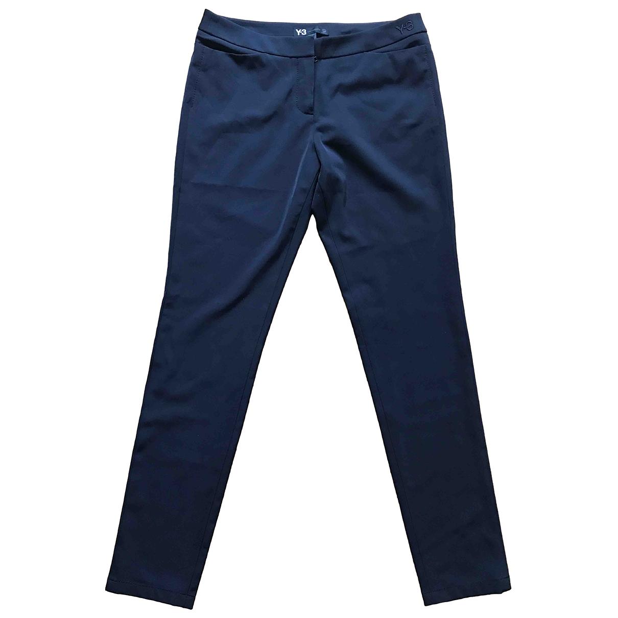 Y-3 By Yohji Yamamoto \N Black Trousers for Women M International