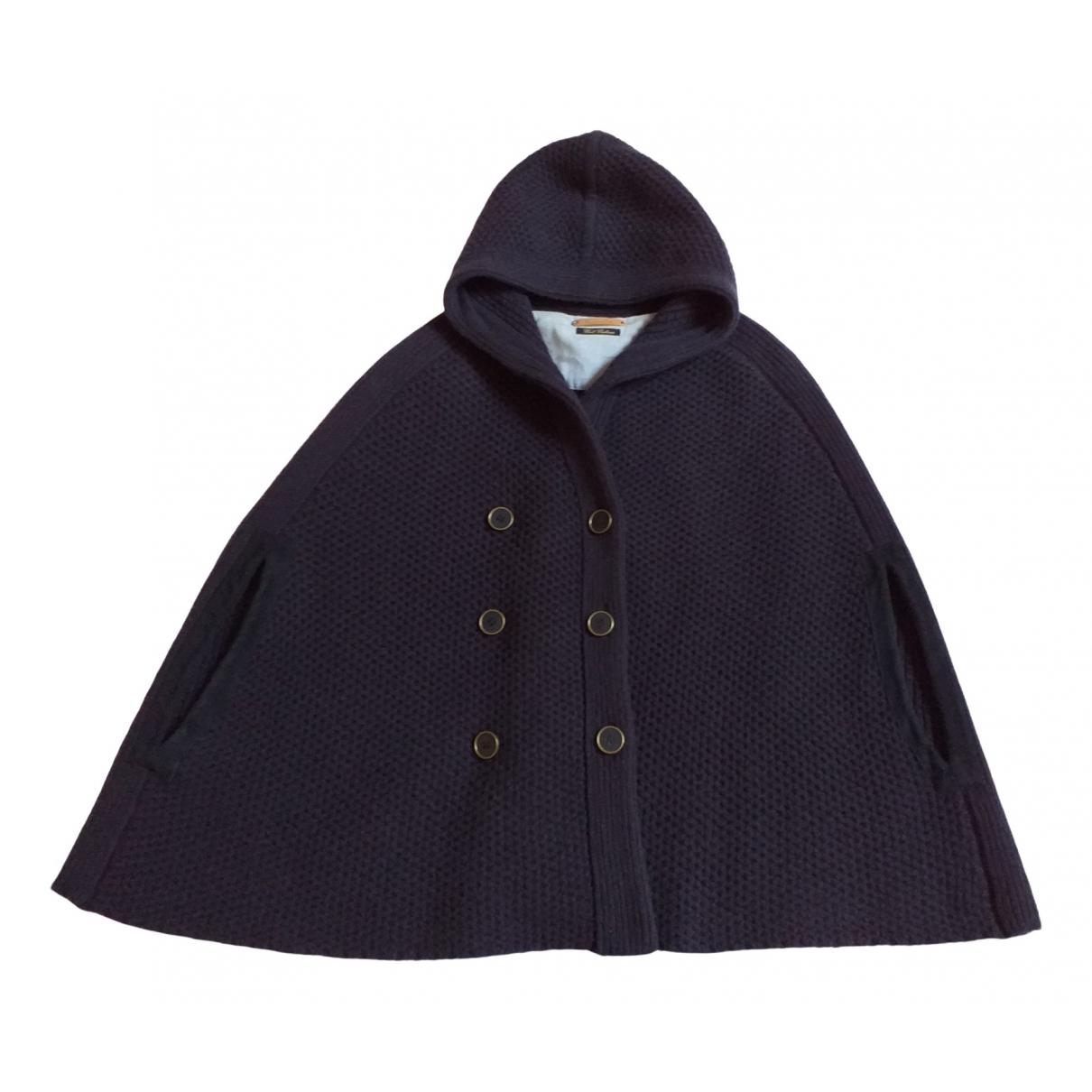 Massimo Dutti \N Navy Wool jacket for Women M International