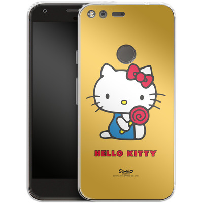 Google Pixel Silikon Handyhuelle - Hello Kitty Lollipop von Hello Kitty
