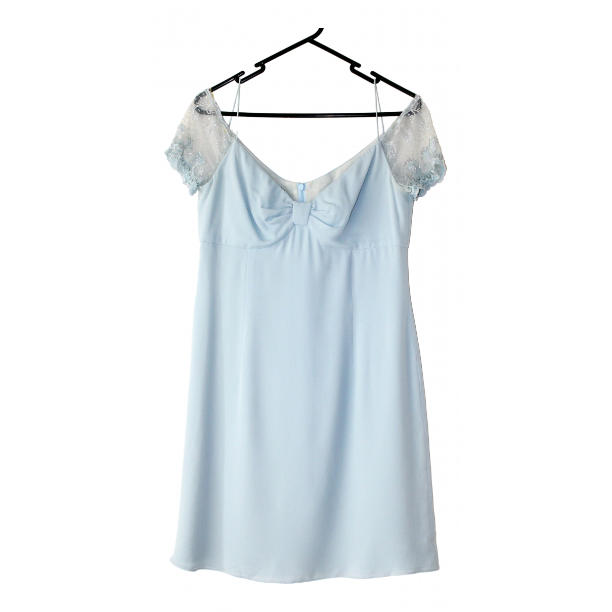 Escada \N Blue Silk dress for Women S International