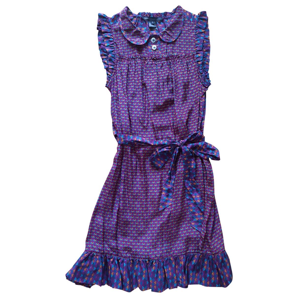 Marc By Marc Jacobs \N Burgundy Silk dress for Women M International