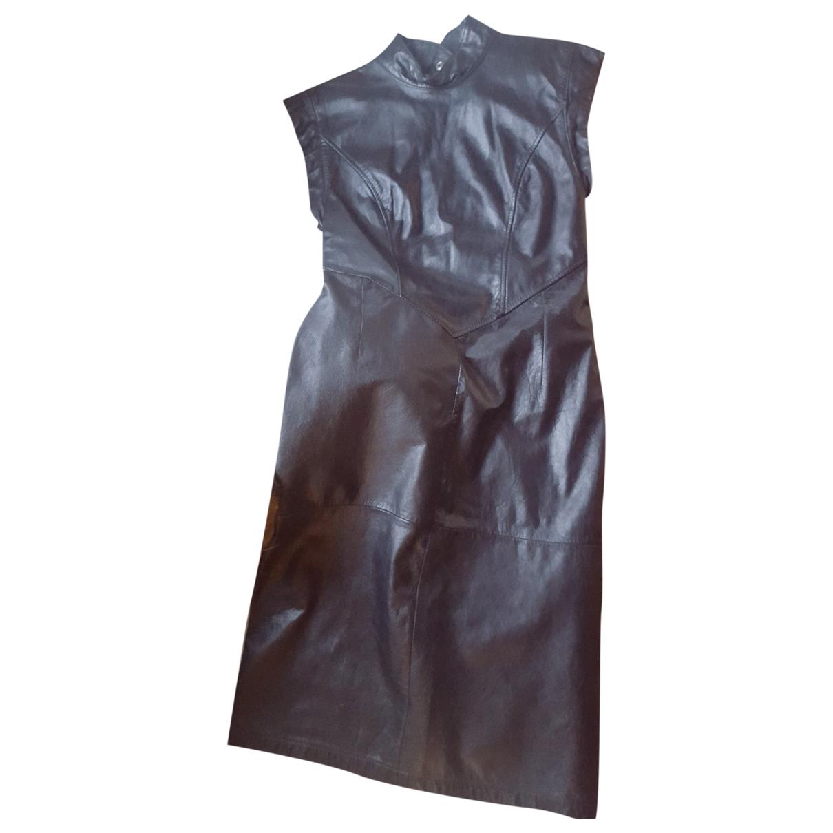 Vestido midi de Cuero Non Signe / Unsigned