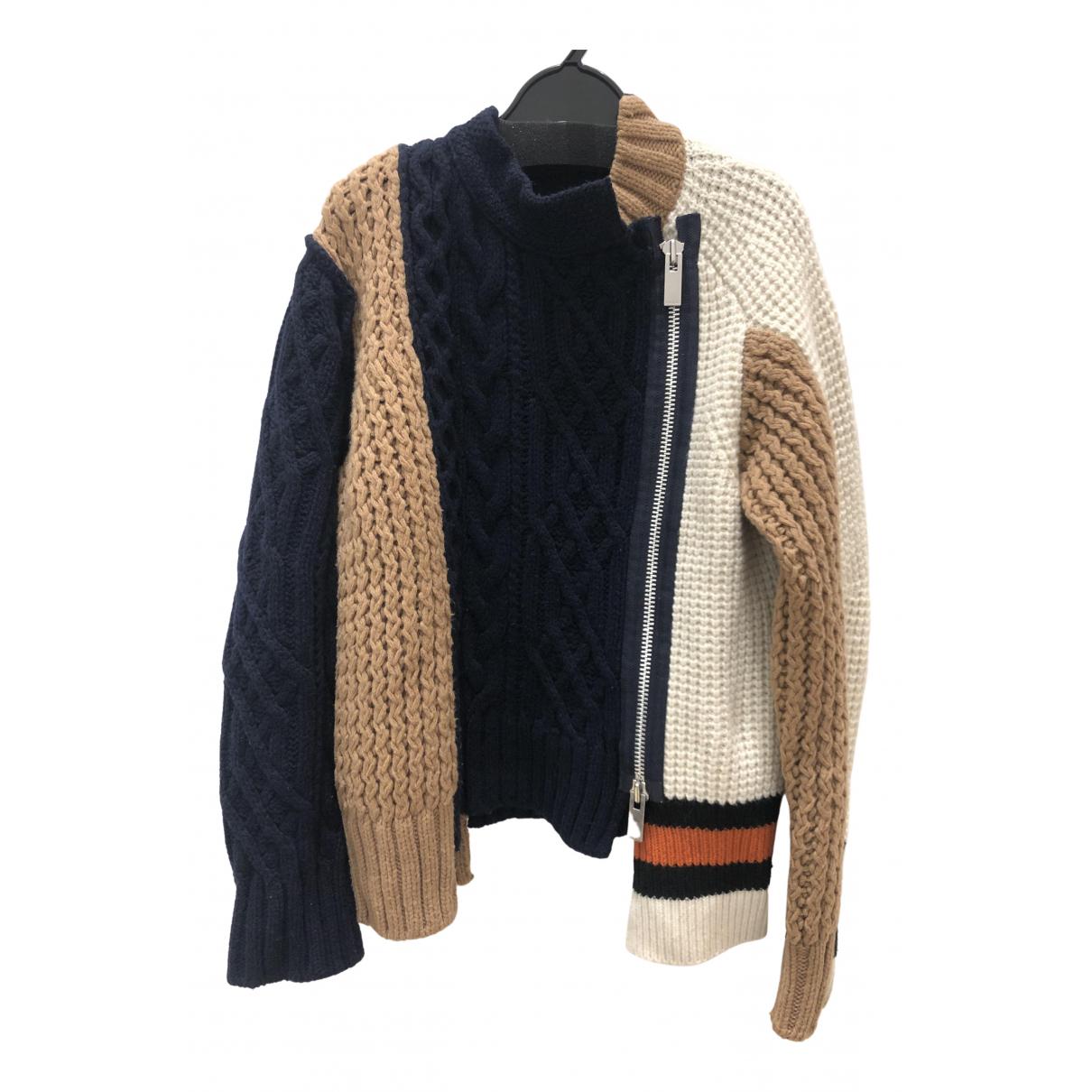 Sacai \N Multicolour Wool Knitwear for Women 1 0-5