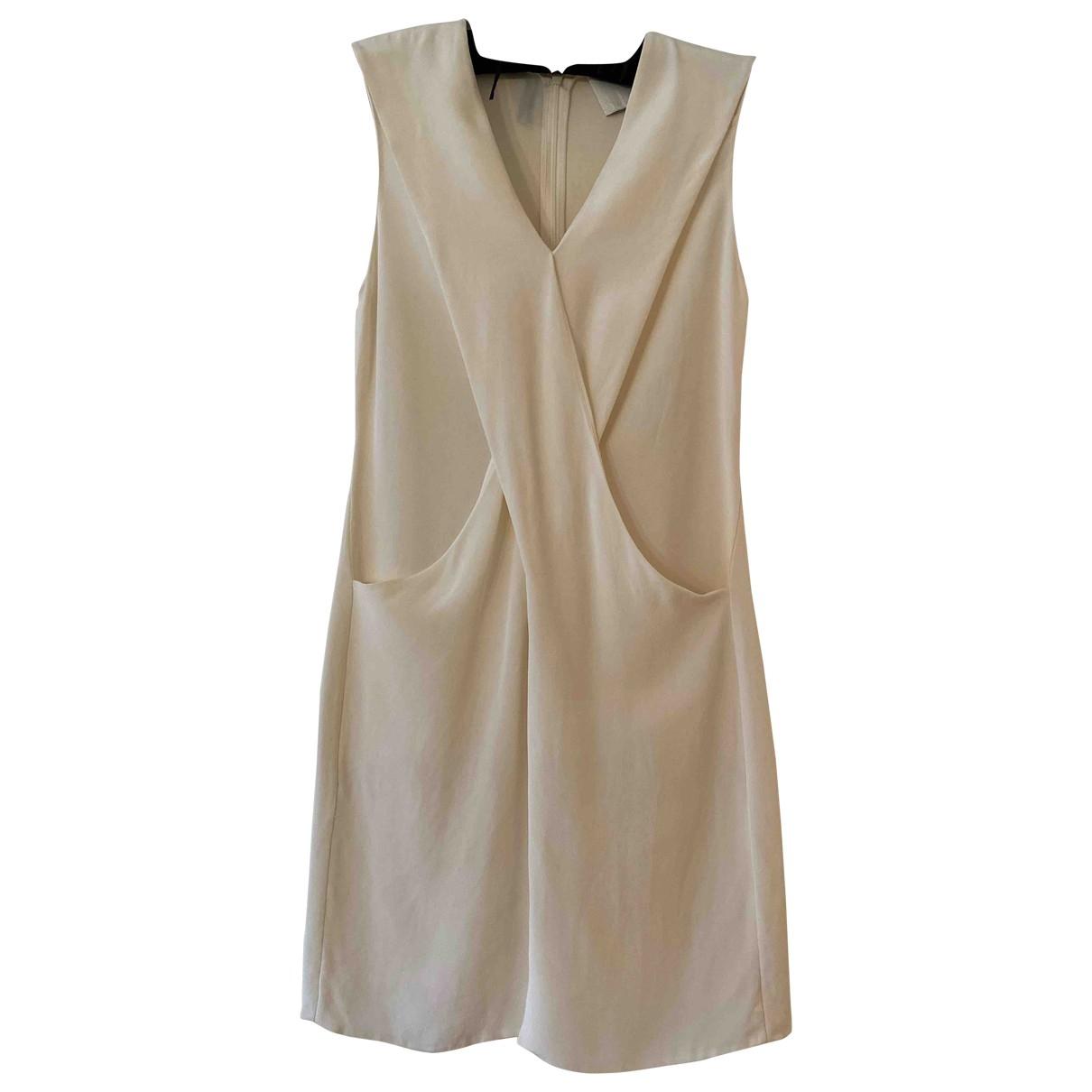 3.1 Phillip Lim - Robe   pour femme en soie - blanc
