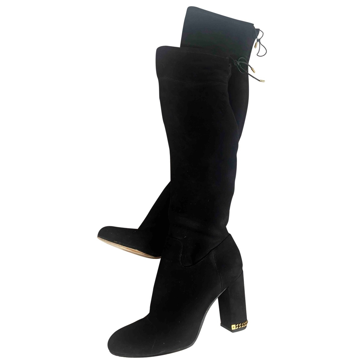 Michael Kors \N Black Suede Boots for Women 8.5 US