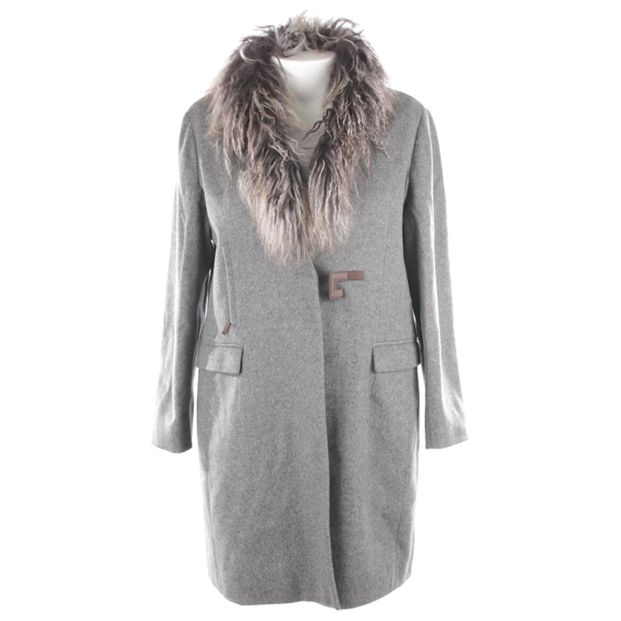 Fabiana Filippi N Grey Wool jacket for Women 44 IT