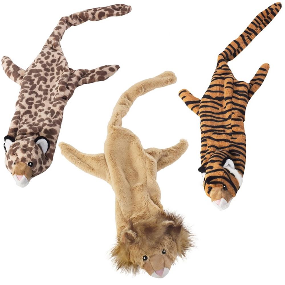 3-PACK Spot Skinneeez Stuffing Free Jungle Cats Assortment (25)