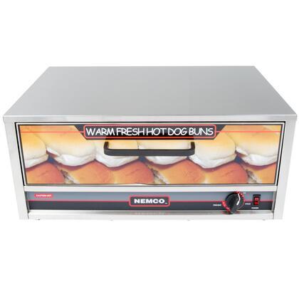 8027-BW Moist Heat Hot Dog Bun Warmer for 8027 Series Roller Grills - Holds 32 Buns  in