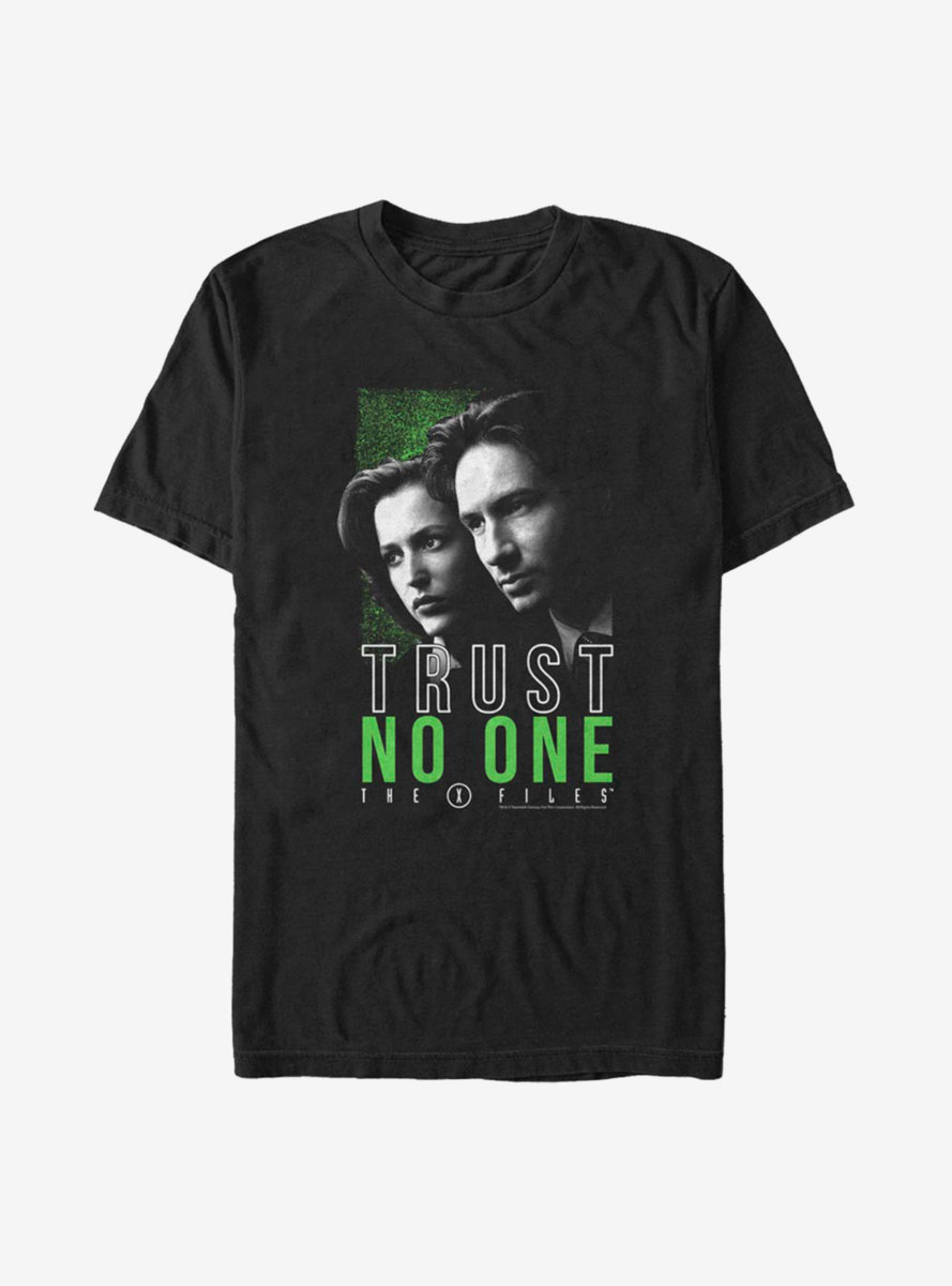 The X-Files Trust No One Hero Shot T-Shirt