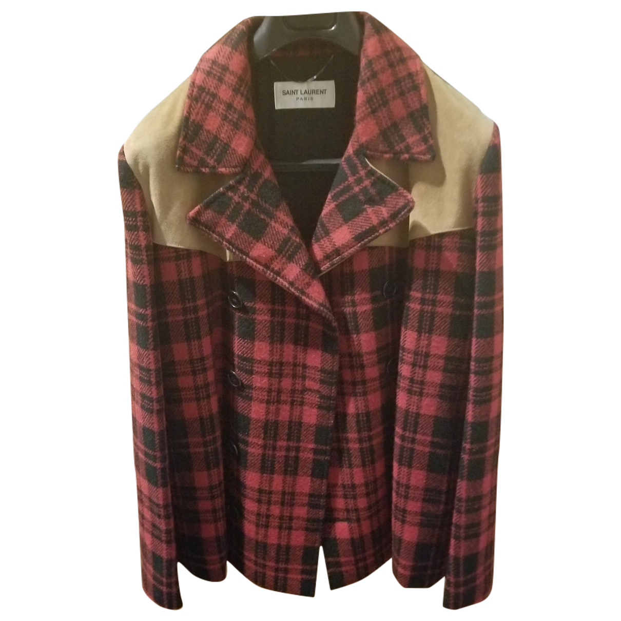 Saint Laurent \N Multicolour Wool coat  for Men L International