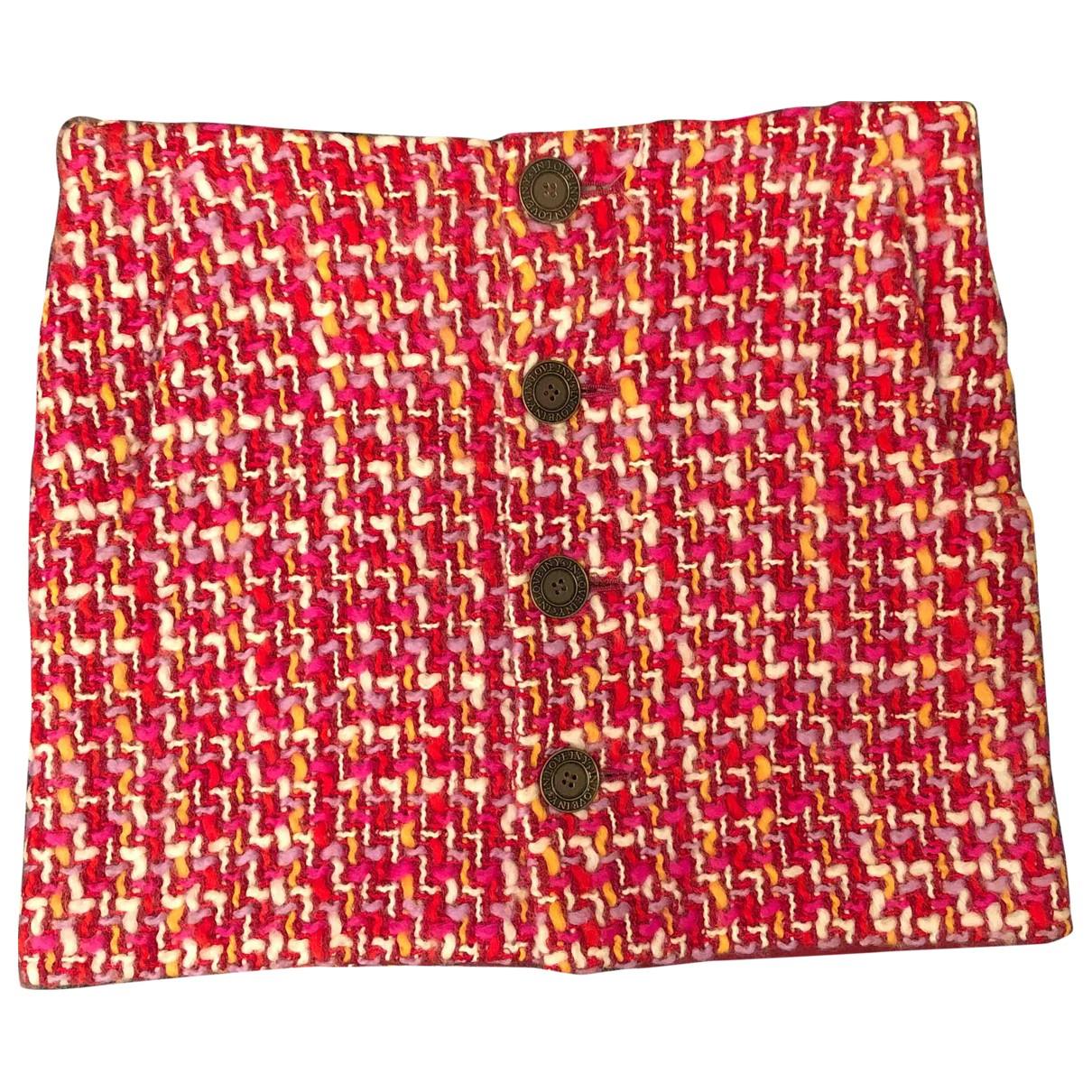 Yohji Yamamoto - Jupe   pour femme en laine - multicolore