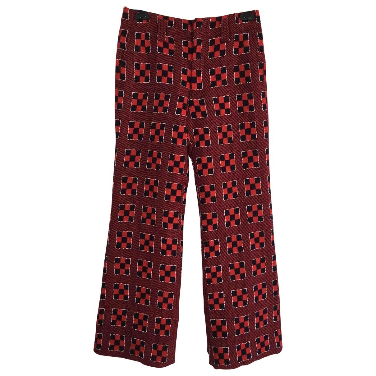 Pantalon largo de Lana Comme Des Garcons