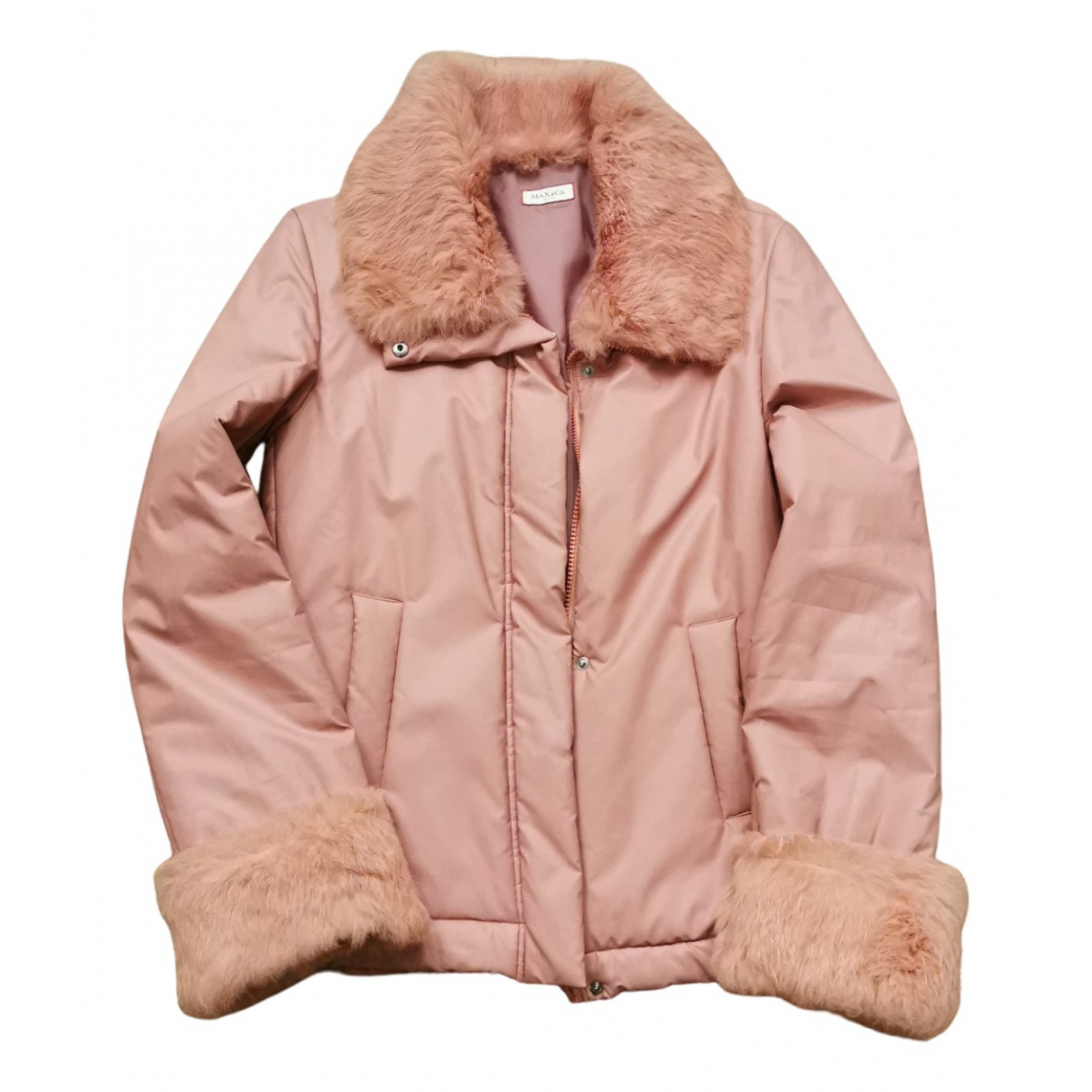 Max & Co N Pink coat for Women 40 IT