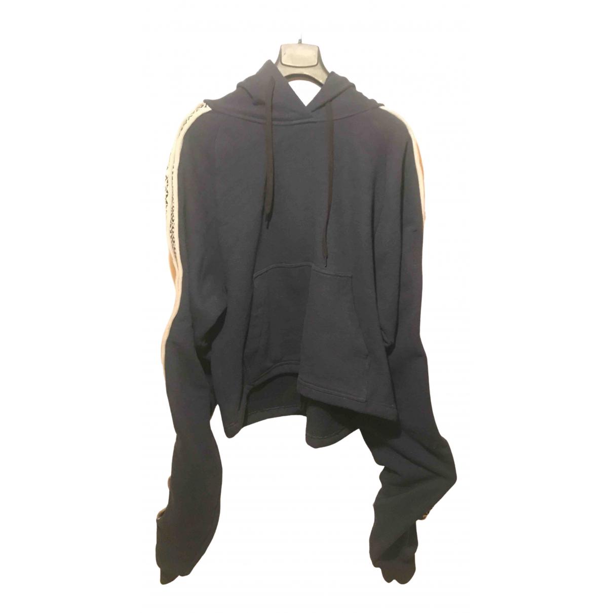 Y/project - Pulls.Gilets.Sweats   pour homme en coton - bleu