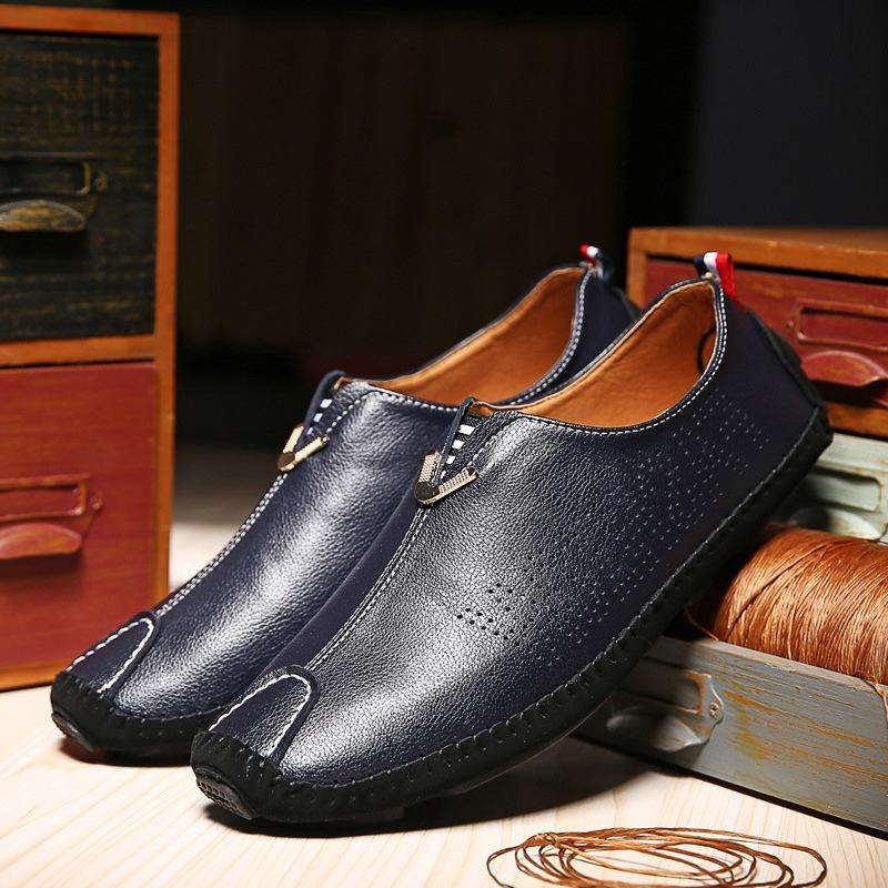 Ericdress Plain Round Toe Men's Slip-On Loafers