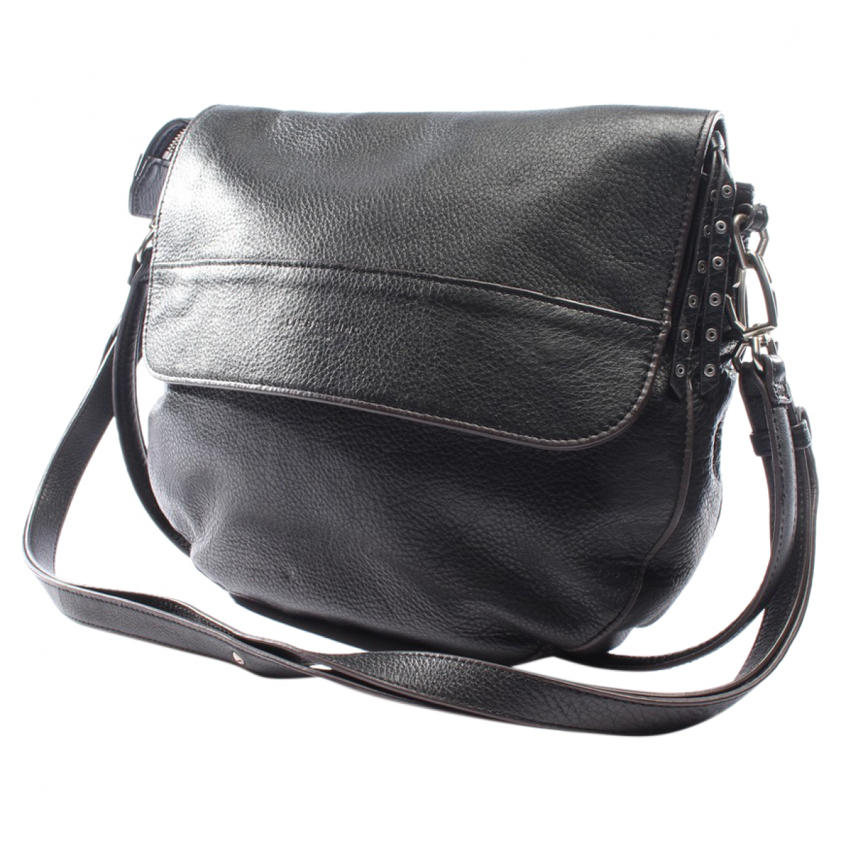 Autre Marque \N Black Leather handbag for Women \N