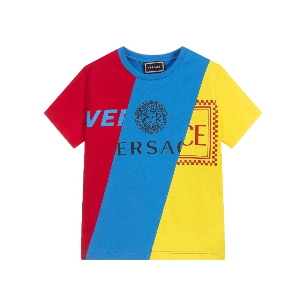 Versace Multi-coloured T-shirt Size: 5 YEARS, Colour: MULTI COLOURED