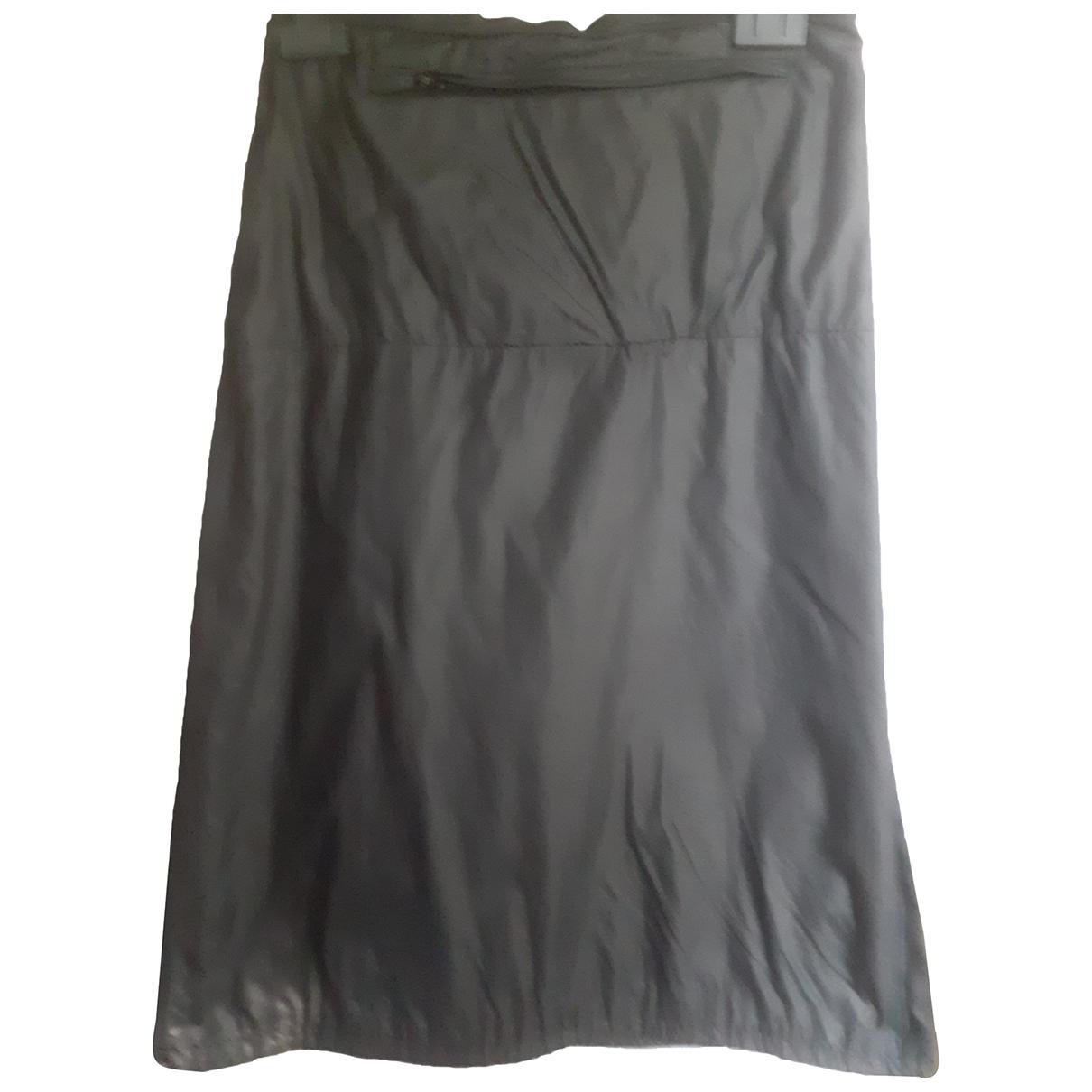 Pinko N Grey skirt for Women 42 IT