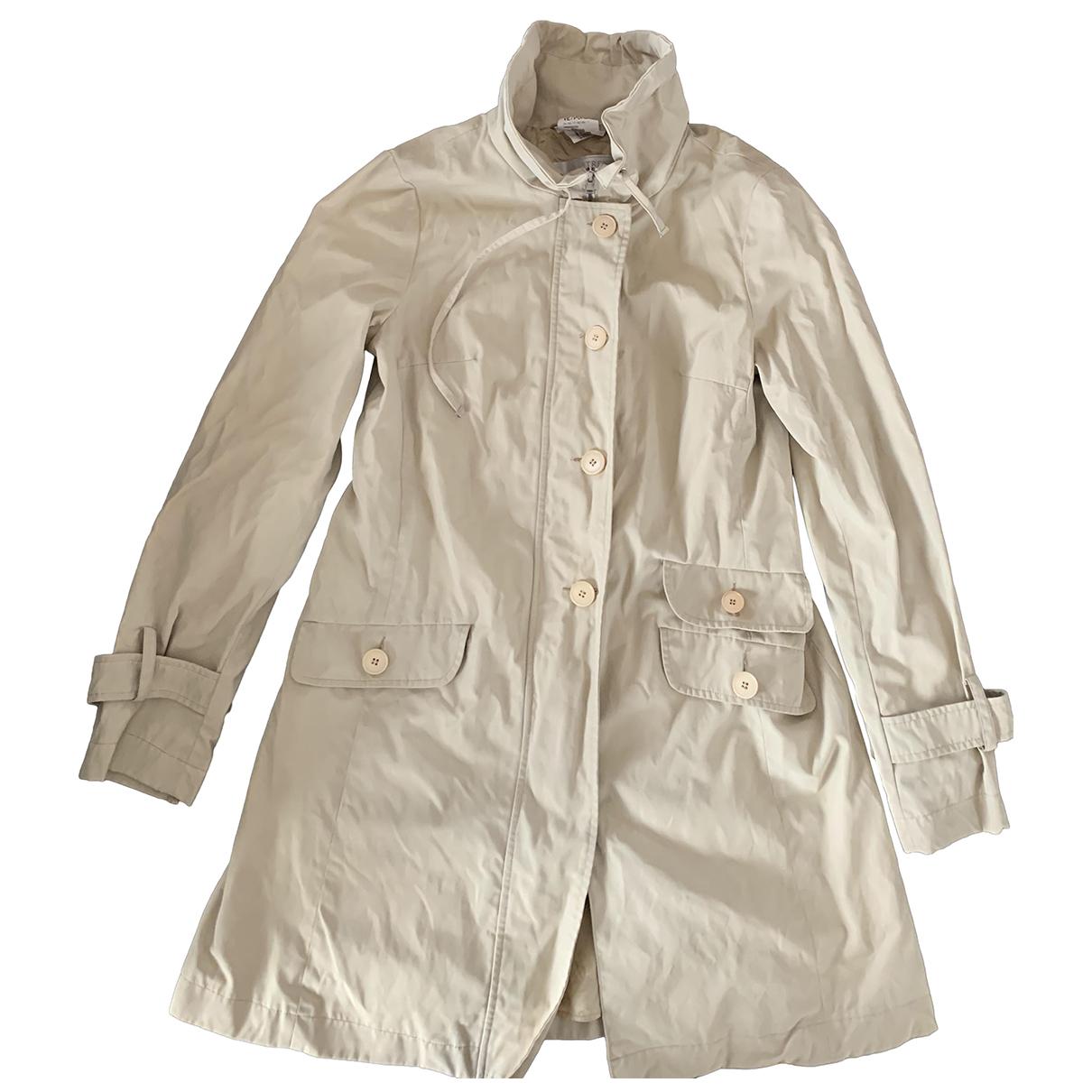 Intrend N Beige Trench coat for Women 42 IT