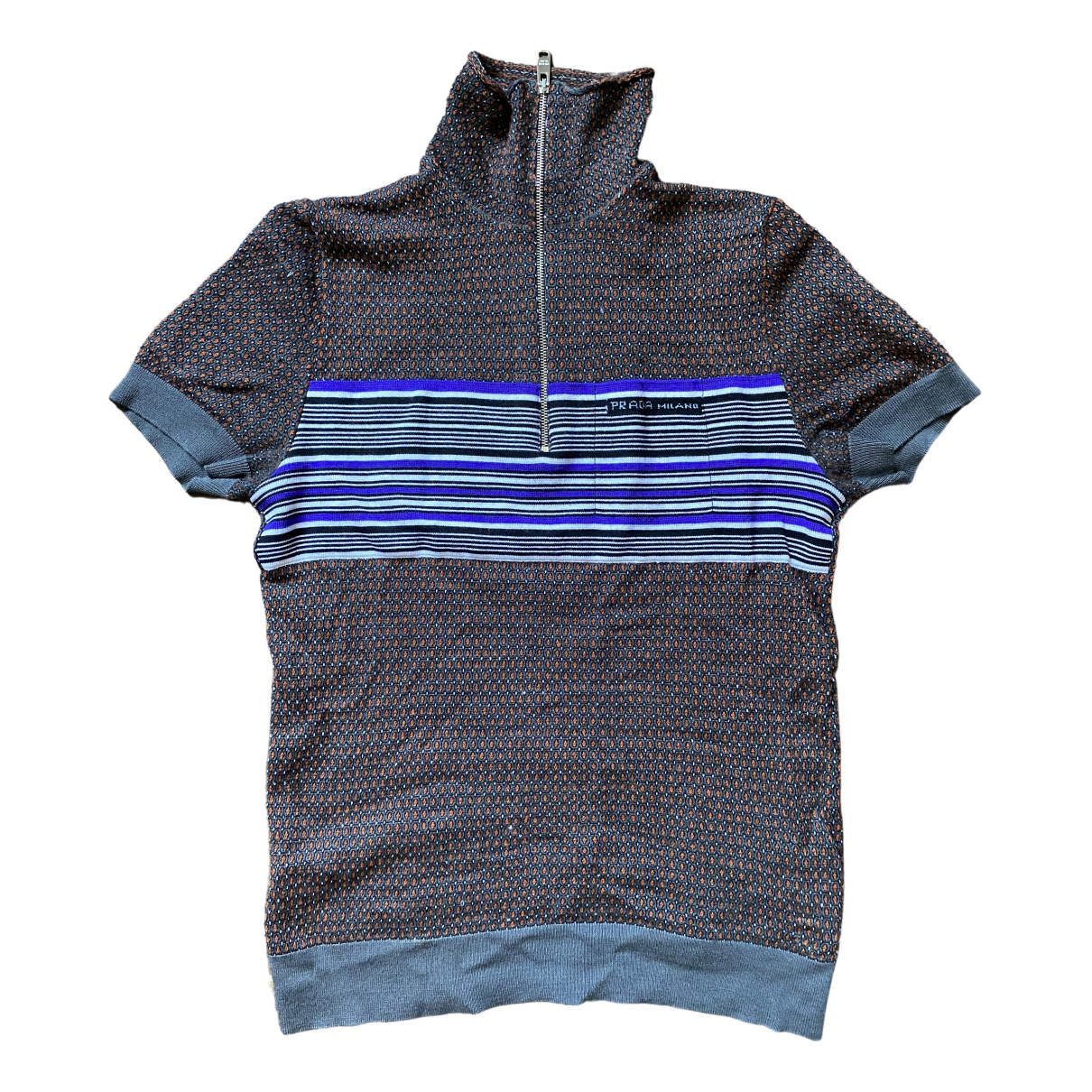 Prada \N Grey Polo shirts for Men S International