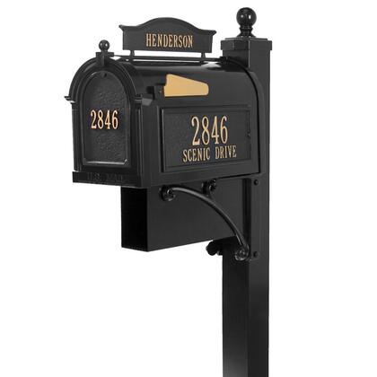16305 Aluminum Ultimate Mailbox Package in