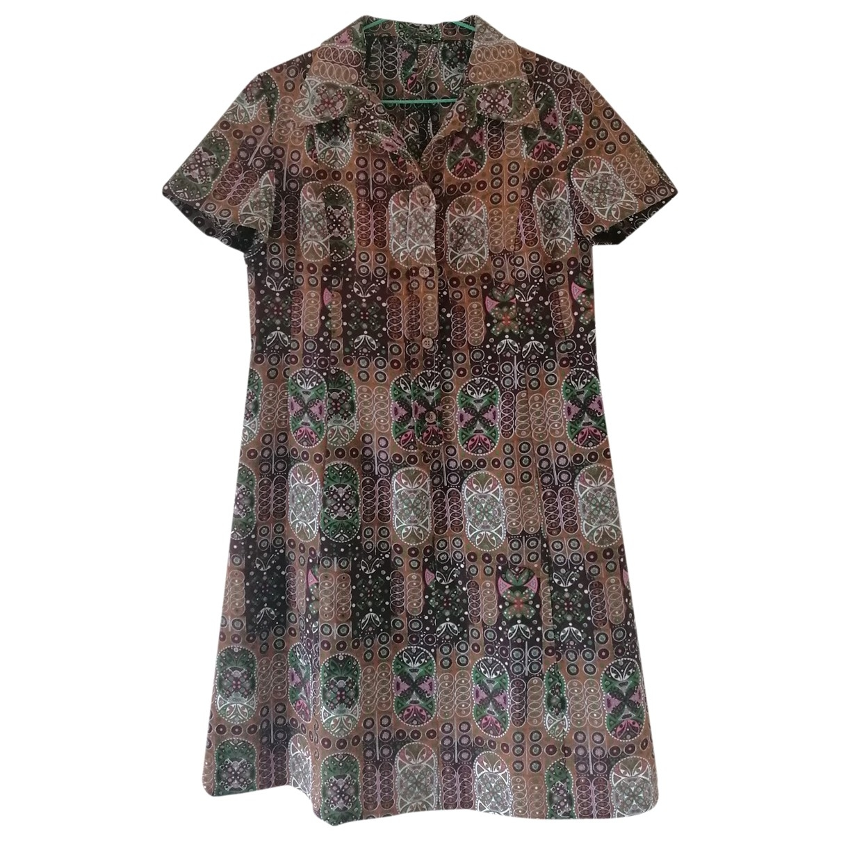 Non Signé / Unsigned \N Beige dress for Women One Size IT