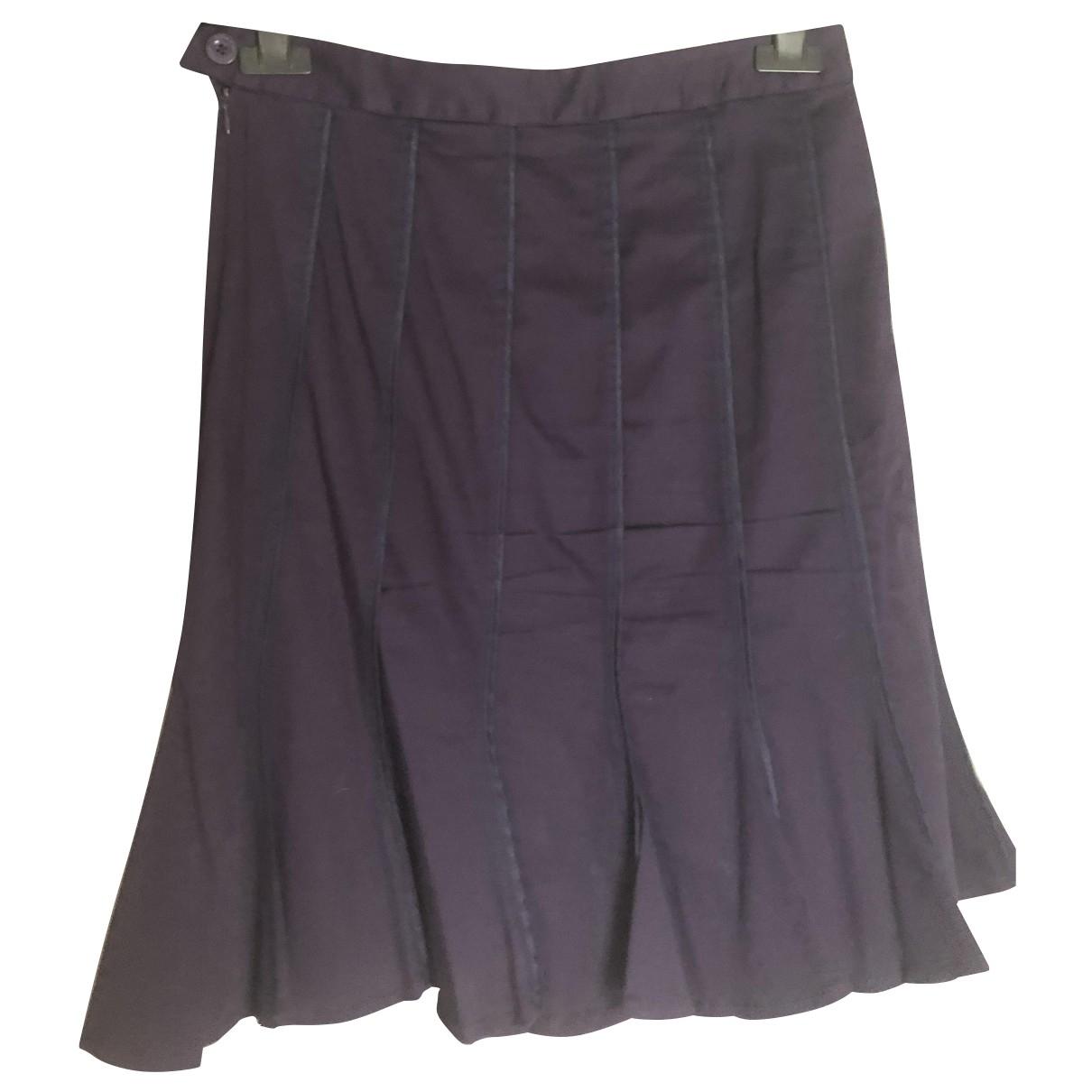 Armani Jeans \N Rocke in  Lila Baumwolle