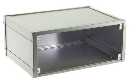METCASE Mettec White Aluminium Project Box, 230 x 193 x 120mm
