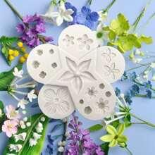 1 Stueck DIY Blume formige Form