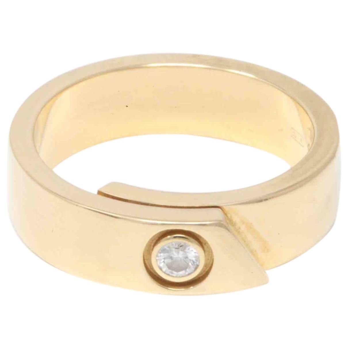 Cartier \N Ring in  Gelb Gelbgold