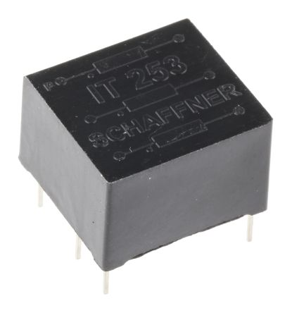 Schaffner 1:1:1 Through Hole Telecom Transformer, 1.1mH