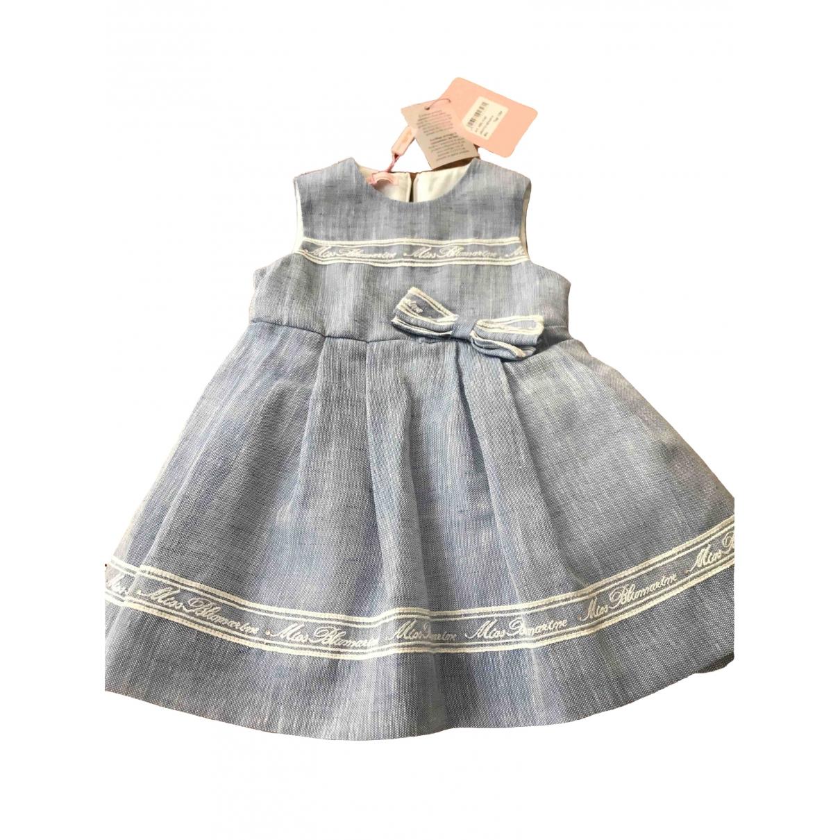 Blumarine - Robe    pour enfant en lin