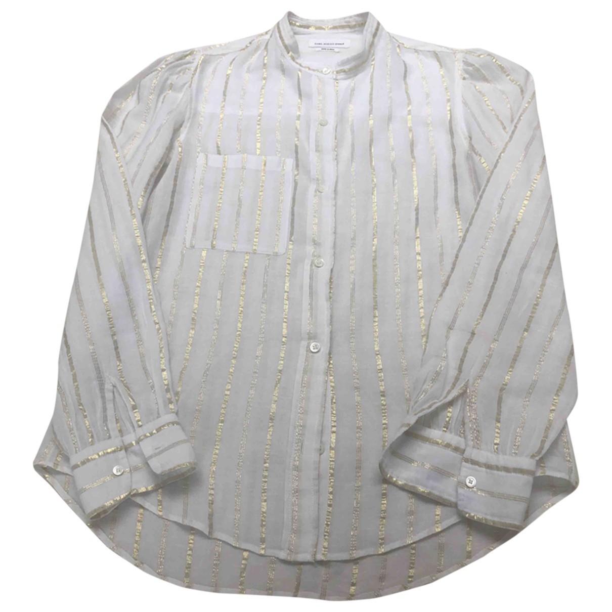 Isabel Marant Etoile \N Ecru Cotton  top for Women 36 FR