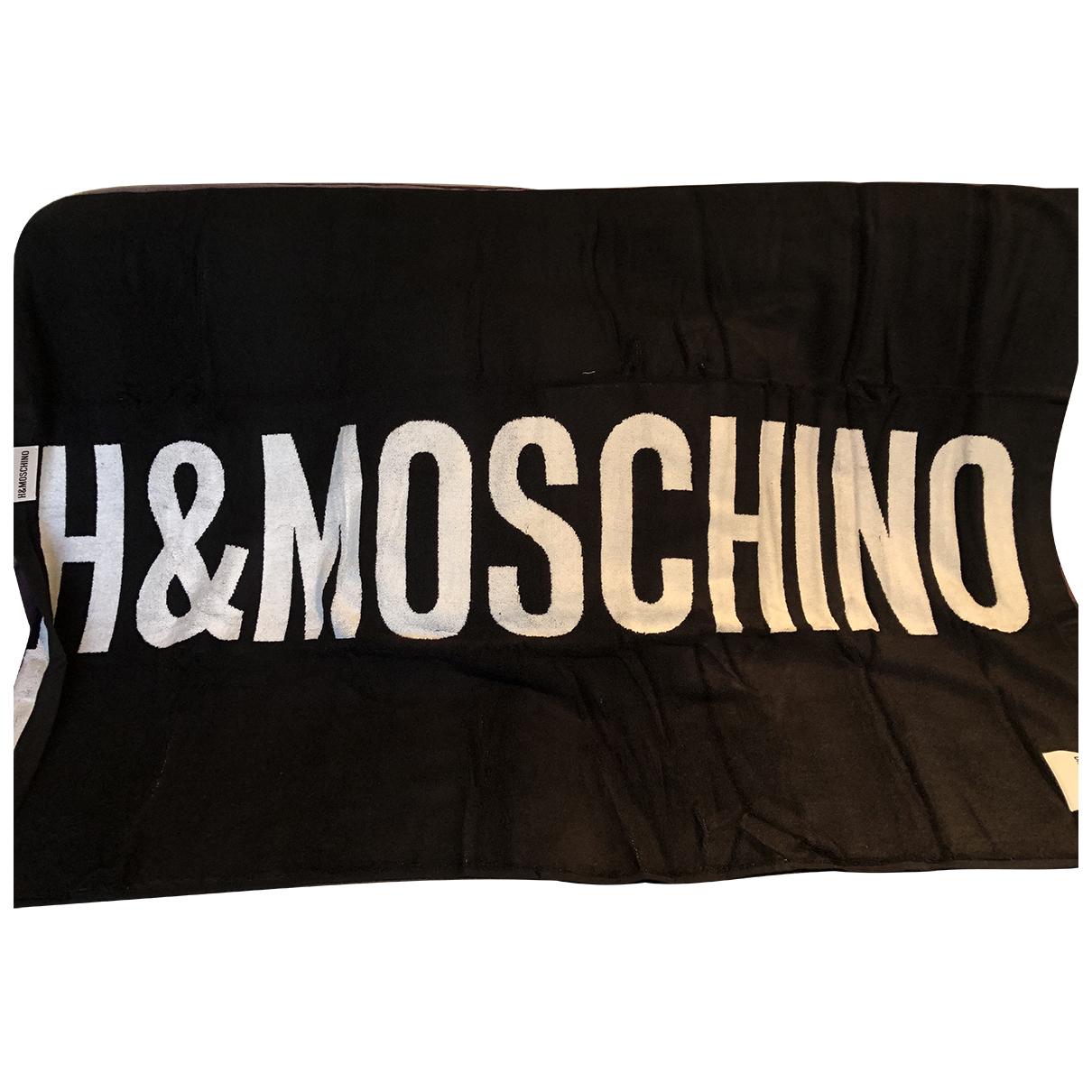 Moschino For H&m - Linge de maison   pour lifestyle en coton - noir