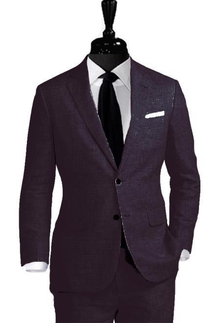 Alberto Nardoni Linen 2 Button Suit Coming September/1/2017