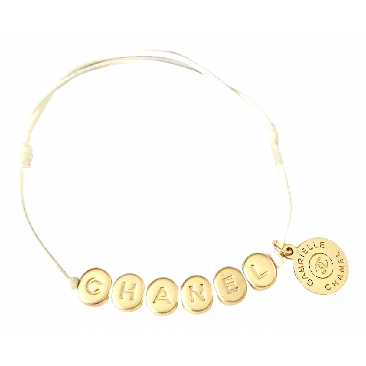 Chanel \N Armband in  Gold Metall