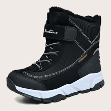 Toddler Girls Velcro Strap Snow Boots