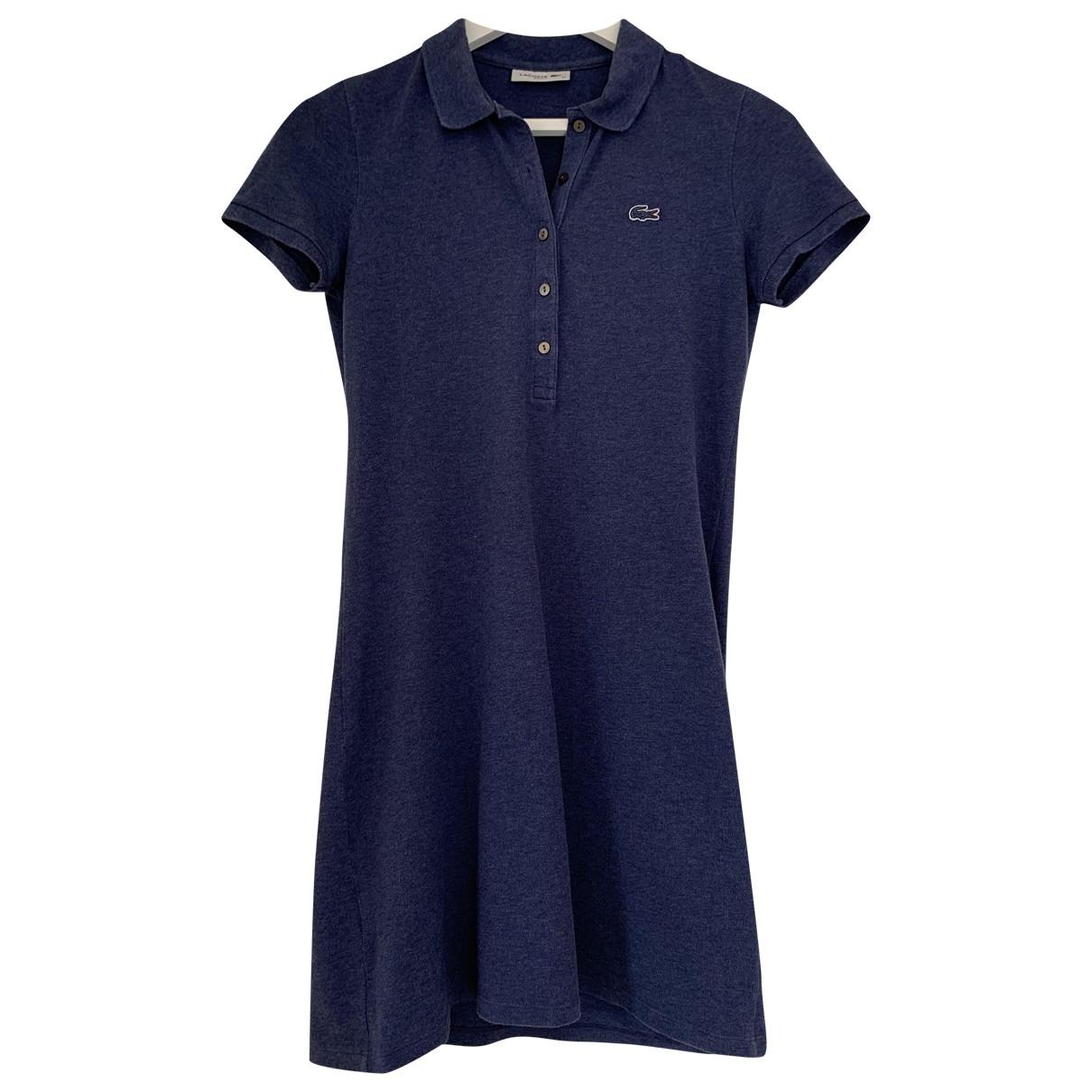 Lacoste \N Kleid in  Blau Baumwolle