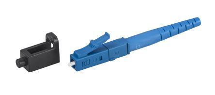 Rosenberger , LC, PC Single Mode Simplex Fibre Optic Connector, 0.3dB Insertion Loss, Blue
