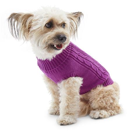 St. Johns Bark Dog Sweater, M-dog , Pink