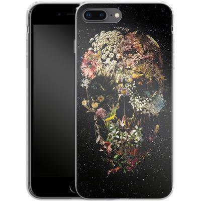 Apple iPhone 8 Plus Silikon Handyhuelle - Smyrna Skull von Ali Gulec