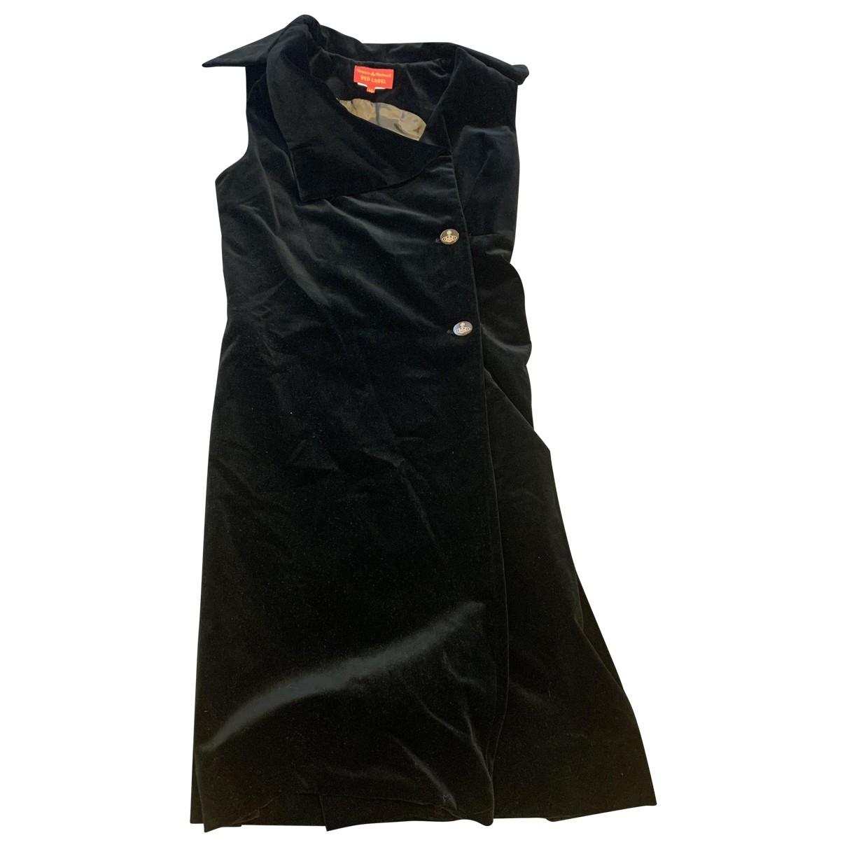Vestido midi de Terciopelo Vivienne Westwood Red Label