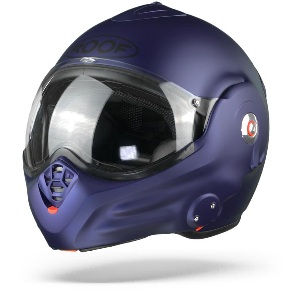 ROOF Desmo Casco Modular Azul Oscuro Mate 2XL
