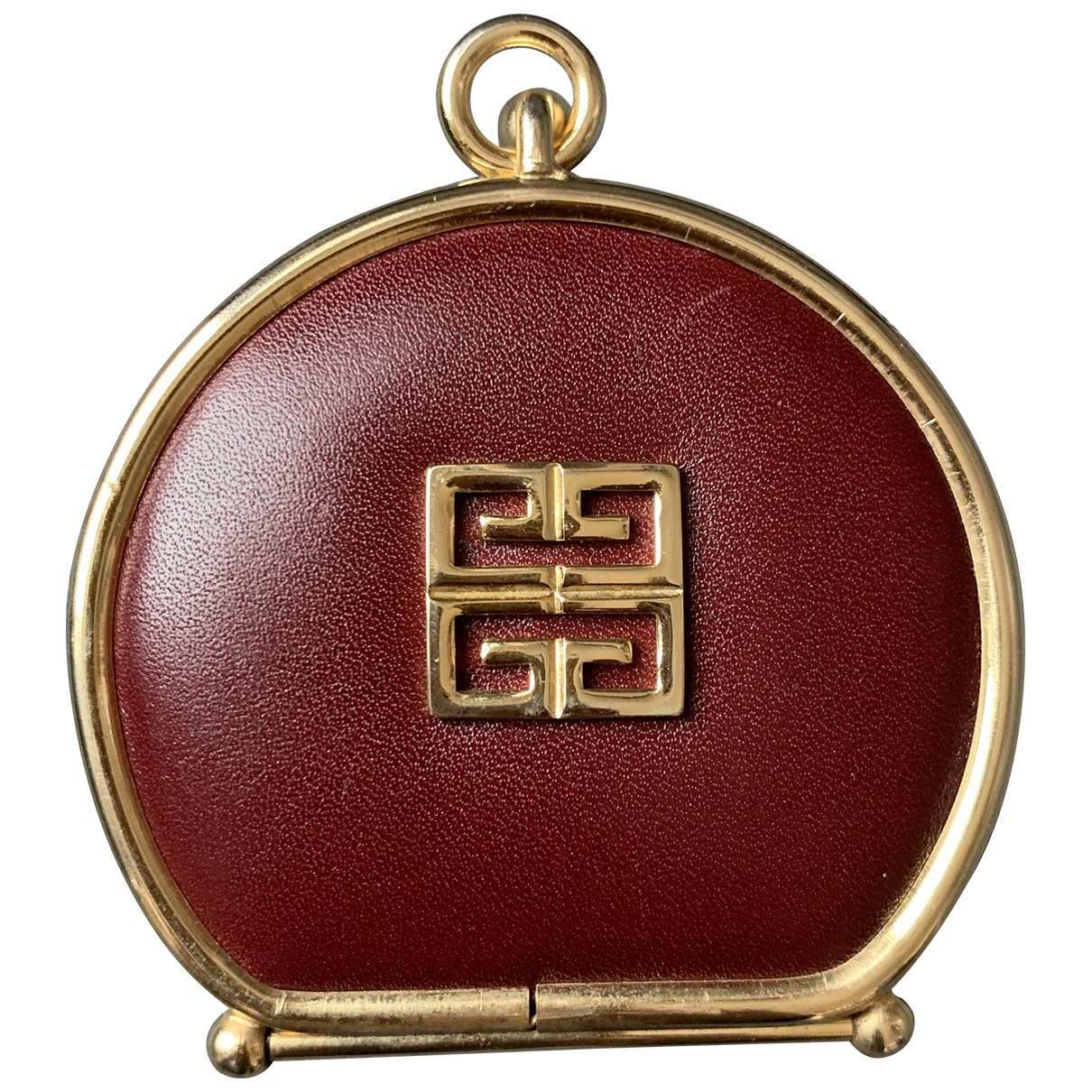 Givenchy - Petite maroquinerie   pour femme en cuir - bordeaux