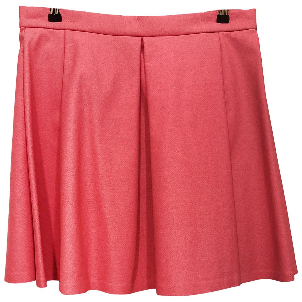 Cos \N Pink Cotton skirt for Women M International