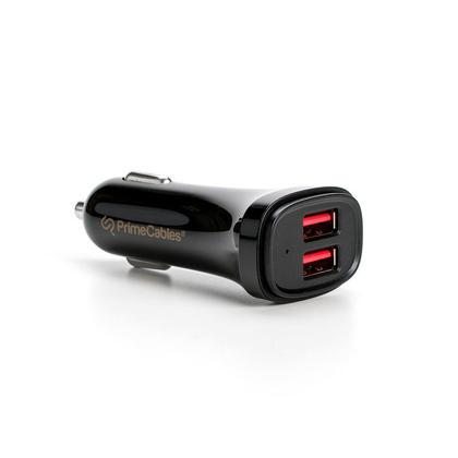 Chargeur rapide de voiture d'USB de 4.8A dual ports avec la technologie intelligente d'IC - 1/paquet